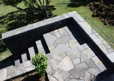 Paved Stone Staircase with corner detail