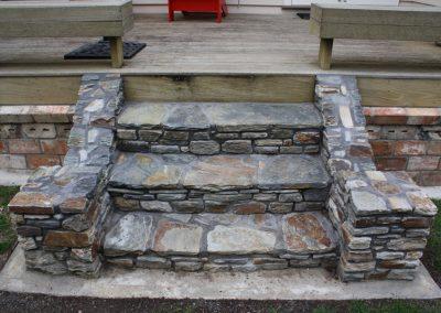Schist Stone Staircase