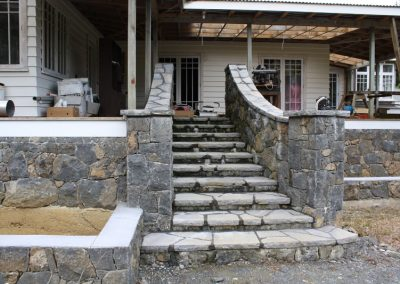 Walled Stone Stairs