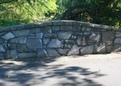Stone Bridge Wall