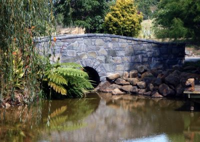 Stone Bridge with Archway