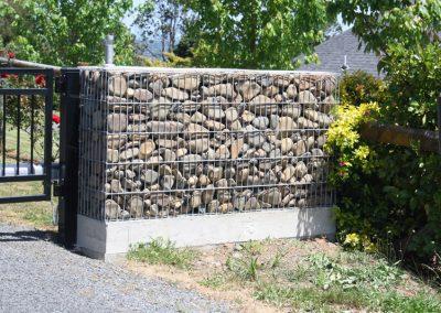 Gabion Basket Entranceway