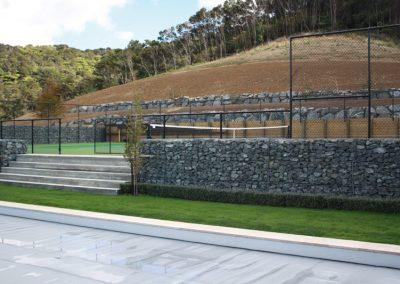 Low Gabion Wall