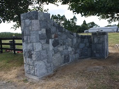 Finished Stone Wall