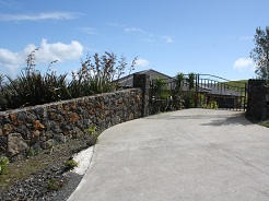 Flat top Stone Wall