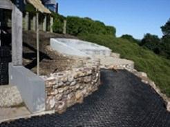 Waiheke Stone Retaining Wall