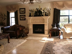 Traditional Formal Fireplace