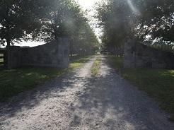 Traditional Stone Entranceway
