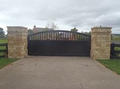 Stone Pillars and Gateway